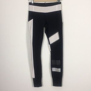 Rare! Lululemon Black and White Leggings